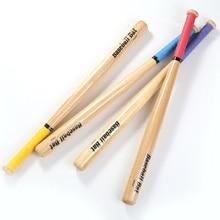 Твердая дубовая древесина полированная и Тяжелая Твердая Деревянная Бейсбольная Бита Клубная палочка для детей и взрослых