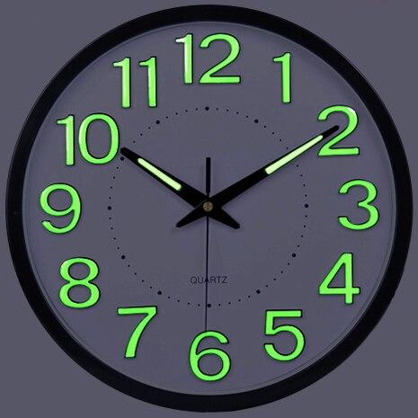 2017 Акция Luminova современный минималистский настенные часы немой большой Гостиная Творческий кварцевые настенные часы