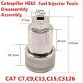 SHUMATT Profissional CAT C7 C9 C13 C15 C3126 HEUI Diesel Common Rail Injector De Combustível 32mm Montagem Desmontagem Ferramenta CRT088