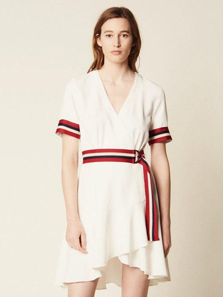 Frauen Kleid Neue 2019 Kurzarm Robe Femme Beiläufige Lange Stil-in Kleider aus Damenbekleidung bei  Gruppe 1