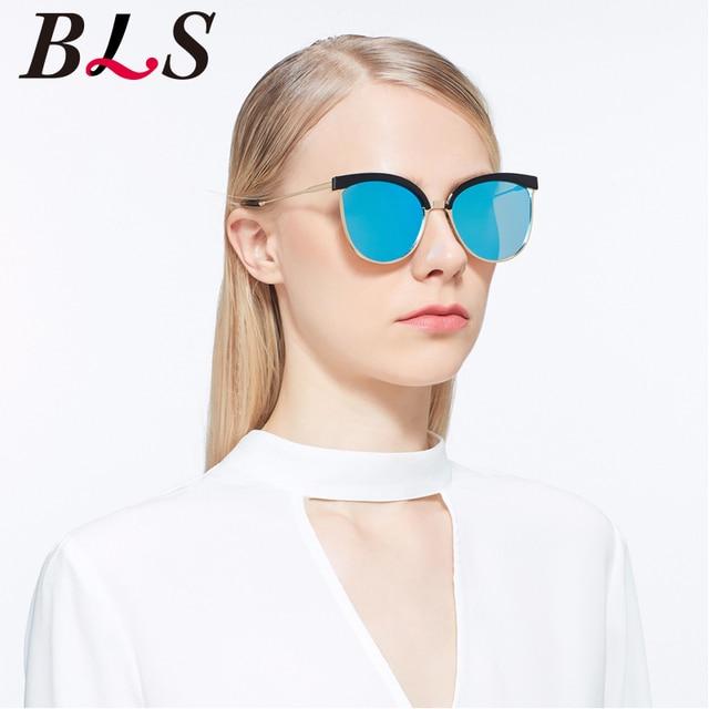 b101b011aeed Alese Sunglasses Women Cat Eye Luxury Brand Designer Copper Frame pink Hot  plat lens Vintage Alloy anti-reflective Sunglasses