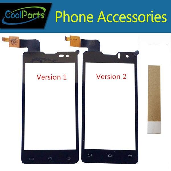 1 PC/Lot Haute Qualité Pour DNS S4003 S4003 innos i6s i3 Tactile Écran Tactile Digitizer Panneau En Verre Avec Ruban Noir couleur