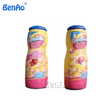 Z307  inflatable model toy inflatable beverage bottle 2.2m inflatable drink cans with blower for advertising for 1set