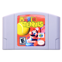 N64Game MariooTennis Video Game Cartridge Console Card English Language US Version (Can Save)