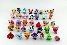 New Arrived LPS Toy bag 15Pcs Pet Shop Animals Cats Kids Children Action Figures PVC LPS