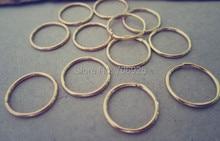 500pcs/lot  1mmx12mm gold color Jump Rings цена