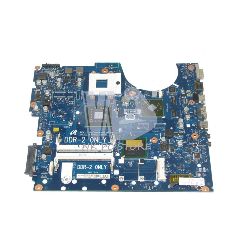 For Samsung NP-R522 R522 Laptop motherboard BA92-05738A BA92-05738B BA41-01060A BA41-01061A PM45 DDR2 Free CPU ba92 05127a ba92 05127b laptop motherboard for samsung np r60 r60 ddr2 intel ati rs600me mainboard