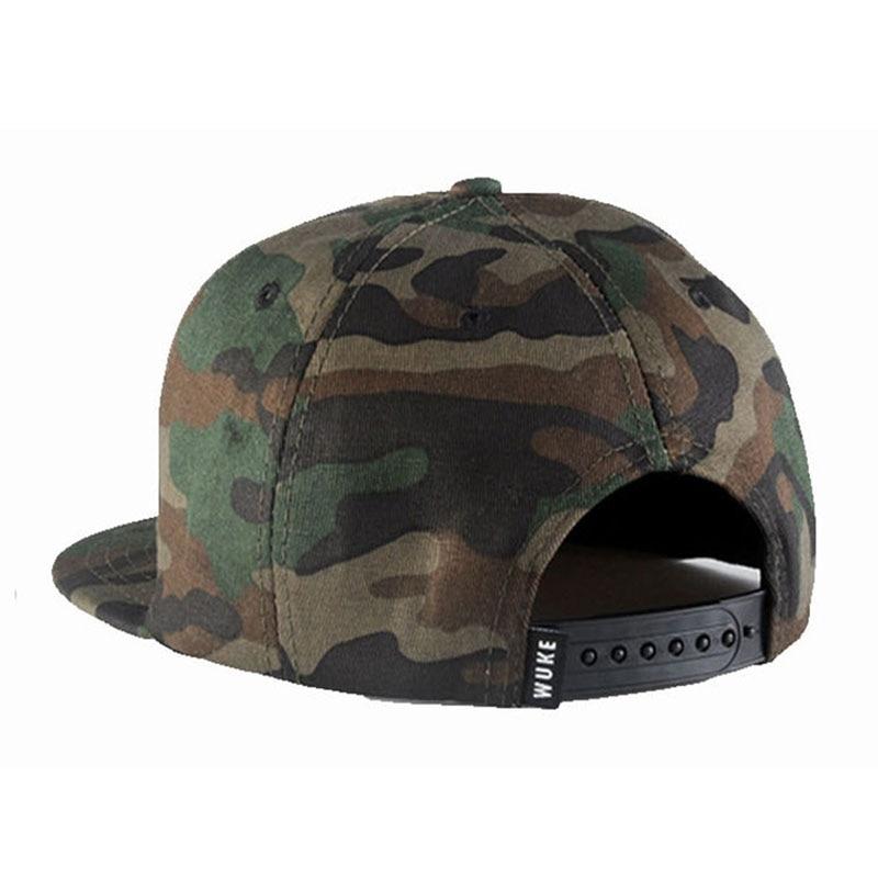 CAMO gorra de béisbol hombres SnapBack sombreros para hombres 2016 Nuevo gorras  planas hip hop Caza ejército marca gorras camuflaje sombrero en Gorras de  ... 053d1a355d8
