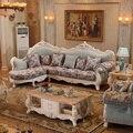 Угловой диван в европейском стиле для гостиной