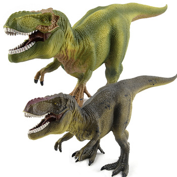 Jurassic Dinosaur Tyrannosaurus Rex Dinosaur Model Toys Animal Plastic PVC Action Figure Toy for Kids Gifts Drop Shipping