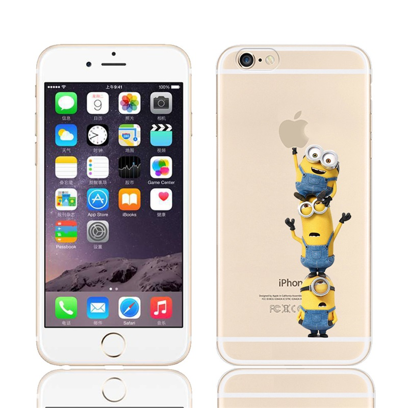 New Fashion Minion Phone Case For iPhone