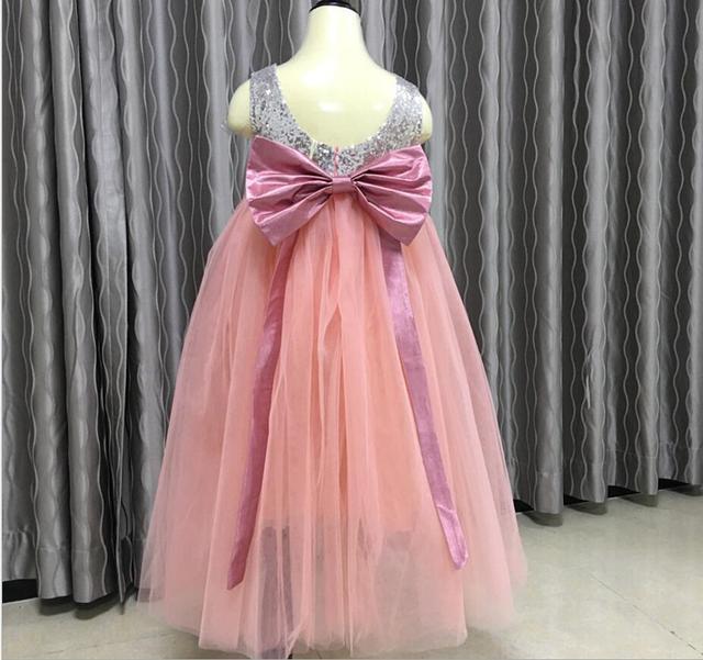 Niños Baby Fairy Extraíble Arco Vestidos de Fiesta de Lentejuelas ...