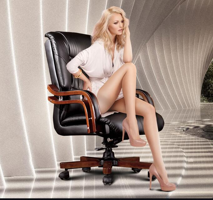 The boss chair is genuine leather... Can lie in the computer chair. With massage can lift the head layer of cow leather office 1 plastic dining chair can be stacked the home is back chair negotiate chair hotel office chair