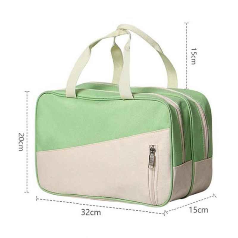 Мода унисекс водонепроницаемый плавательный мешок сочетание сухой и влажной разделительной сумки водонепроницаемый пляжный купальник хранения плеча Spo
