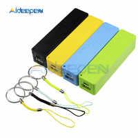 USB Power Bank Fall Kit 18650 Batterie Ladegerät DIY Elektronische Lagerung Boxen 1800mAh 2200mAh 2600mAh 2800mAh 3400mAh Batterie