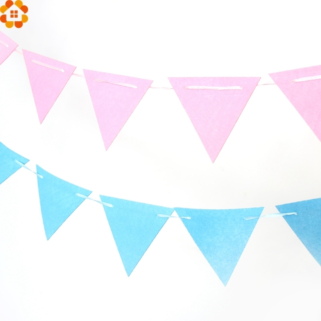 1set 2 5m cute star flags garland floral bunting banners diy kids