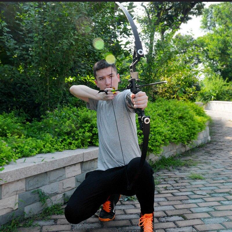 Arc classique puissant 35-40lbs costume de tir à l'arc de chasse professionnel pour la chasse en plein air tir pratique flèches accessoires - 3