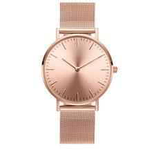 beeed92ce3a Mavis Melrose Malha Lebre Beleza Ouro Rosa Relógios de Luxo Mulheres Relógio  De Pulso Cuff Quartz