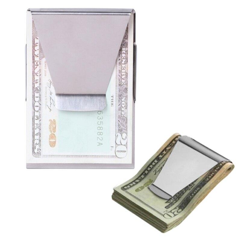 Das Beste Neue Schlanke Hohe Qualität Slim Kreditkarte Halter Brieftasche Edelstahl