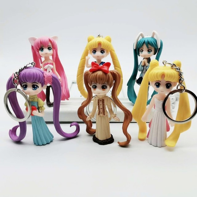 Sailor Moon Themed Keychain