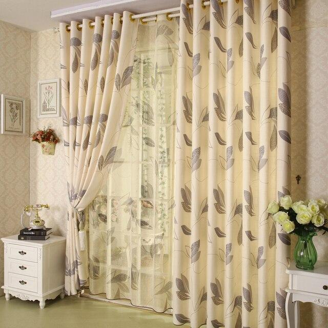 Heisser Verkauf Vorhang Modern Rustikalen Qualitt Leinen Gedruckt Wohnzimmer Gardinen Chinesische Baumwolle Jalousien Tll