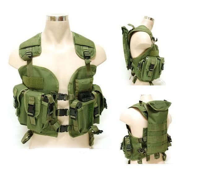Cheap Military Surplus >> Military Surplus Woodland Camouflage Tactical Vest Ca Free Ship In
