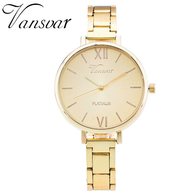Everyday Bracelet Watch Casual Fashion Women Watch Relogio Feminino Stainless St