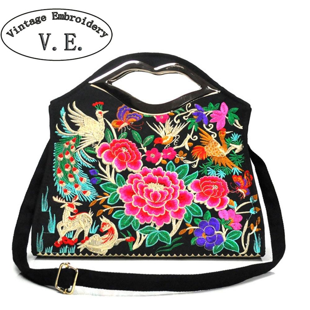 Vintage Embroidery Women Handbag Canvas Embroidered National Single Shoulder Bag Crossbody Bolsa Feminina Bolsos шины michelin x ice xi3 235 50 r18 101h xl