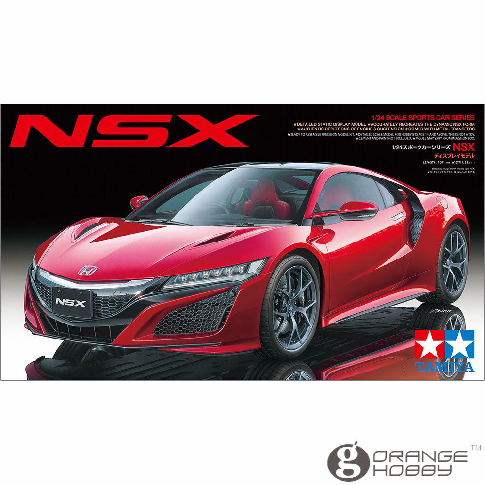 OHS Tamiya 24344 1/24 NSX Scale Assembly Car Model Building Kits ohs tamiya 14101 1 12 desmosedici scale assembly motorcycle model building kits