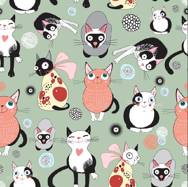 Wallpaper Kucing Comel Kartun Kucingcomel Com