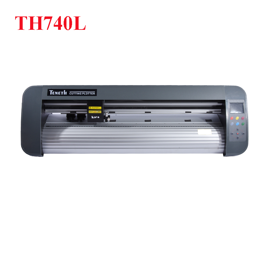1pc 24 inch desktop contour cut plotter cutter th740l with red eye 74cm cutting plotter. Black Bedroom Furniture Sets. Home Design Ideas