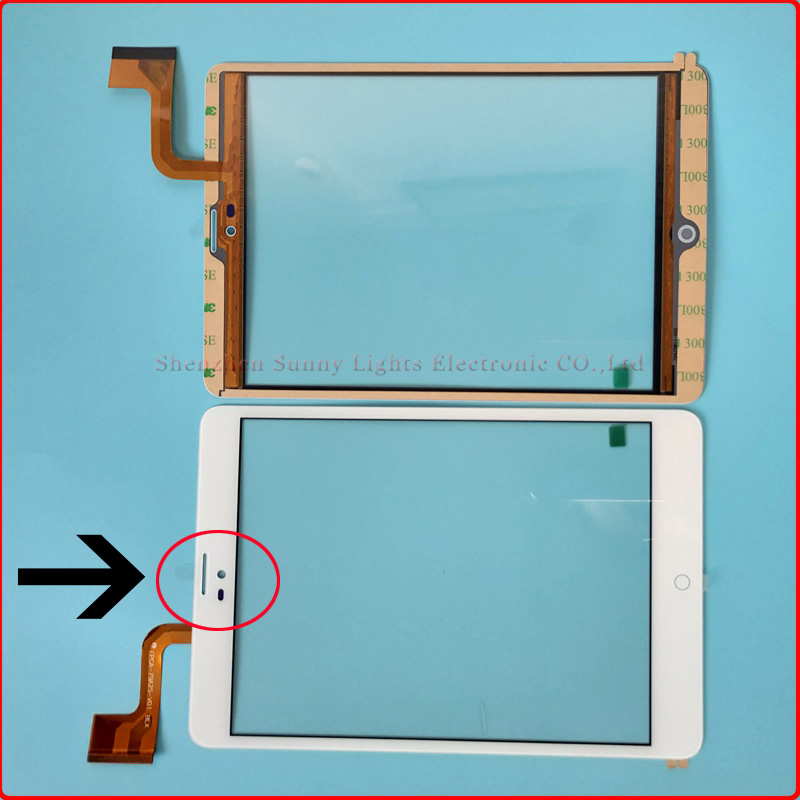For 7.85 ZTE e-Learning PAD E8Q+ New Touch screen Digitizer Touch panel Glass Sensor replacement Free Shipping new for mitsubishi f930got bwd e touch screen glass panel f930gotbwd fast shipping