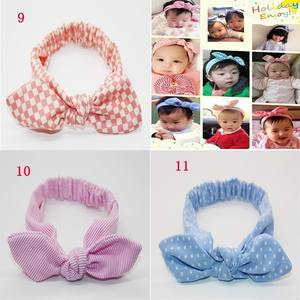 gootrades Knot Headband Children Turban Elastic Bow Head