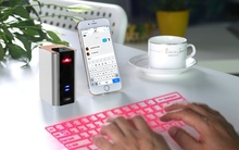 Bluetooth Laser Projection Keyboard with Keyboard Mouse Speaker 3 in 1 for Iphone Ipad Android Smartphone Blackberry 10 Tablet