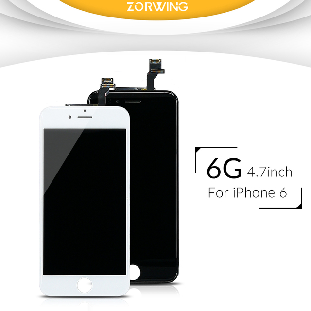 Grade AAA Quality LCD Screen For iPhone 6 Display With Digitizer Touch Screen Replacement Assembly Complete in Black White