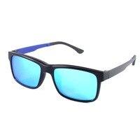 RUI HAO EYEWEAR Optical Eyeglasses Frame and Polarized Sunglasses Clip on Prescription Eyewear Frames Men Women Glasses oculos