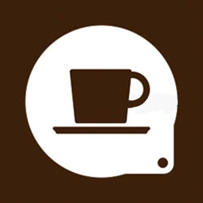 3 stücke kaffee teetasse form Latte Vorlagen Cappuccino art ...