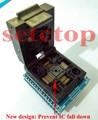 Бесплатная доставка TQFP32 QFP32 LQFP32 К DIP28 разъема адаптера поддержка ATMEGA8 ATMEGA8A ATMEGA328 AVR MCU TL866A TL866CS