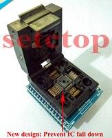 Free Shipping Chip Programmer TQFP32 QFP32 LQFP32 TO DIP28 Adapter Socket Support ATMEGA8 Series TL866A TL866CS