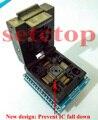 Free shipping TQFP32 QFP32 LQFP32 TO DIP28 adapter socket support ATMEGA8 ATMEGA8A ATMEGA328 AVR MCU TL866A TL866CS