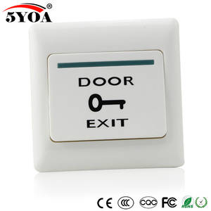 Door Exit Button Release Push Switch for access control systemc Electronic Door Lock