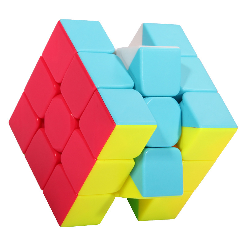 High Quality Cubo Magico 3x3x3 Enhanced Edition Magic Cube Six Colors  Black  White Neo Cube Education Toys For Children Adult