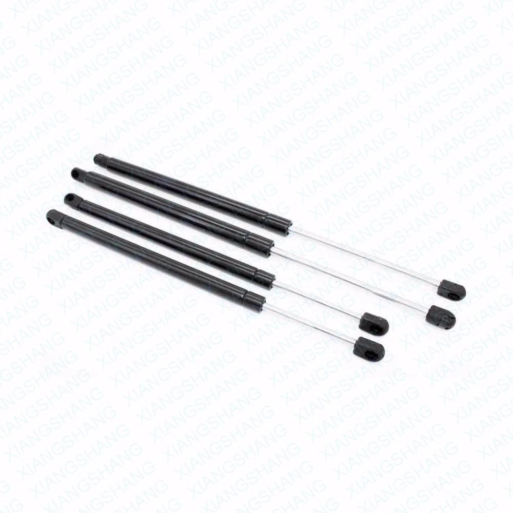 2 tylna klapa i 2 podnośnik szyby tylnej wsparcie zestawy amortyzator pasuje do Chevrolet Trailblazer GMC sprężyny gazowe pręty opłata w wysokości w Rozpórki od Samochody i motocykle na Xiangshang Car Parts Store