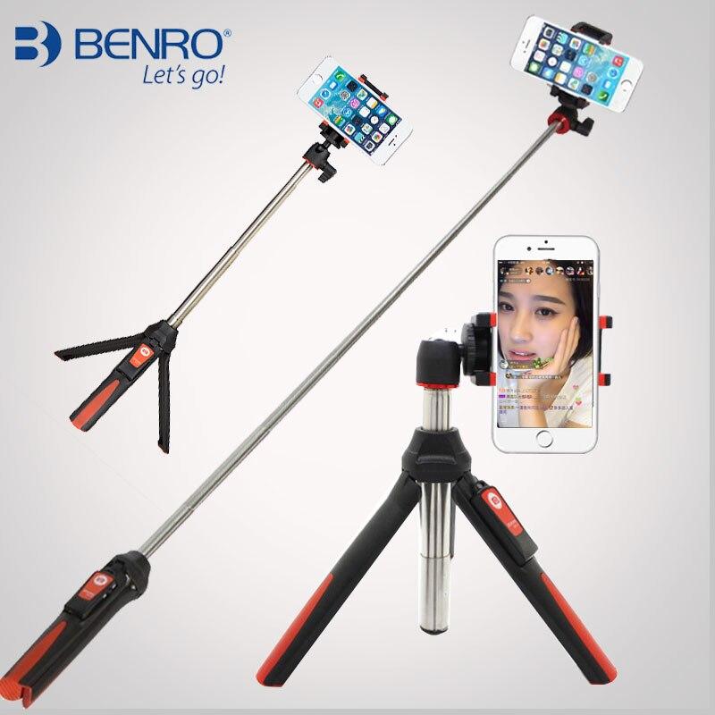 BENRO Handheld & Mini Tripod 3 In 1 Self-portrait Monopod Phone Selfie