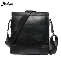 Business Style Black Messenger Bags For Man Multifunction Men's Crossbody Bag Europe Style Solid Female bolsa de hombro