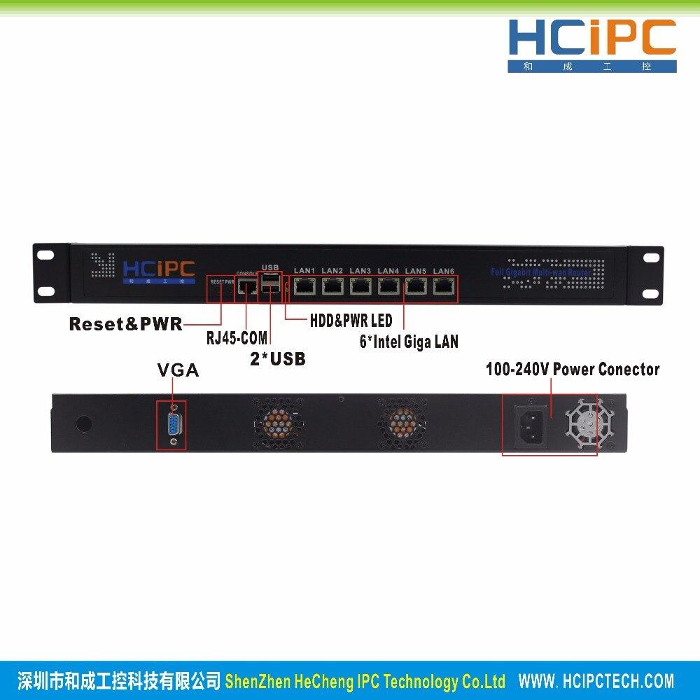 Hcipc B205 1 HCL SB75 6LB、4グラム+ 64グラム+ i3、lga1155 b75 82583ボルト6LANミニファイアウォールベアボーン、6LANミニルーター、ミニpc、4lanマザーボード  グループ上の パソコン & オフィス からの サーバー の中 3
