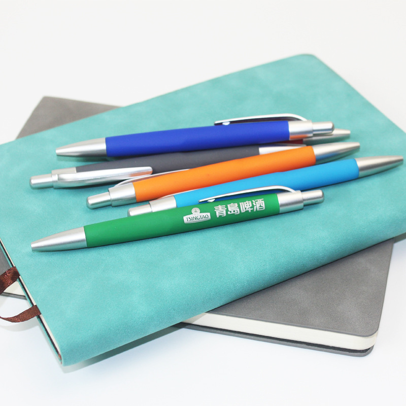 0 7mm Blue Ink 500pc set Advertising Ball Pen Customized Logo Advertising Pen Hotel Promotional Pen Cheap Price High Quality in Banner Pens from Office School Supplies