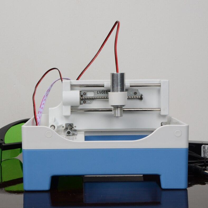 Бесплатная доставка по DHL 1 шт. USB гравер мини лазерная гравировальная машина DIY Лазерный Гравер 1000 мВт
