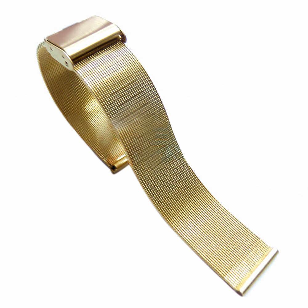 Correa de reloj Susenstone 3 colores 18 Mm/20 Mm/22 Mm/24 Mm correa de reloj 22Mm inoxidable banda de reloj de acero