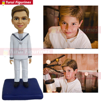 communion little boy figurine hobby collection bobblehead vintage mini figure custom hand painted models clone my face